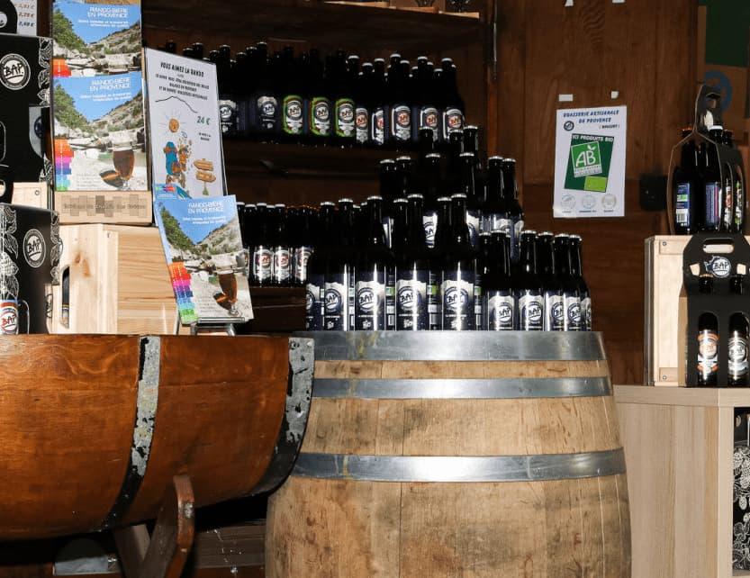 Espace Boutique Brasserie Artisanale de Provence
