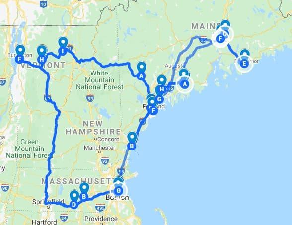 BAP Trip en Nouvelle Angleterre